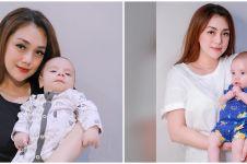 8 Potret Koa, anak Stefan & Celine Evangelista yang bule banget