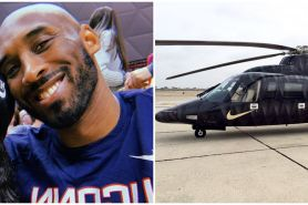 5 Fakta helikopter yang ditumpangi Kobe Bryant