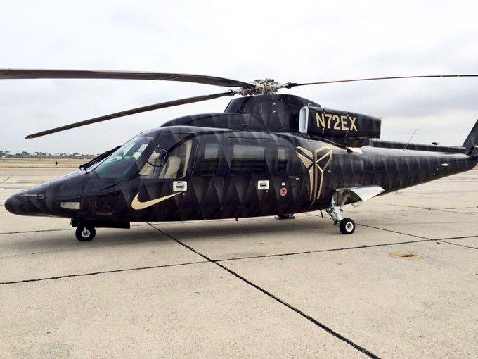 Fakta helikopter yang menewaskan Kobe Bryant Instagram