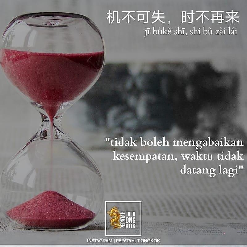 Kata-kata bijak pepatah China  Instagram/@pepatah_tiongkok