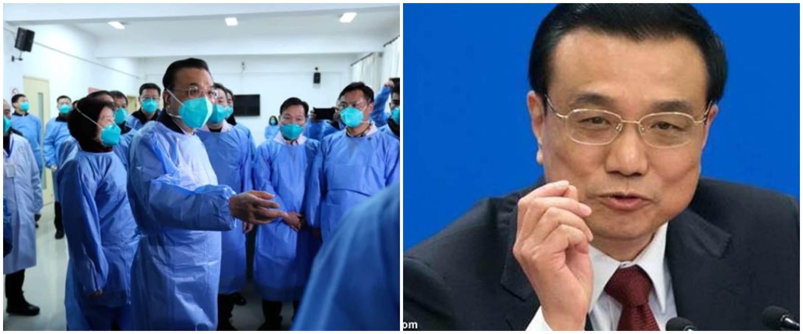 5 Momen PM China Li Keqiang kunjungi Wuhan temu pasien corona