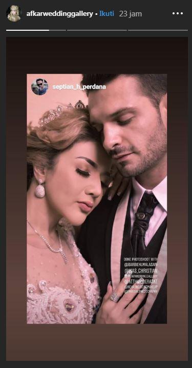 Prewedding Barbie Kumalasari & pria bule Instagram