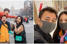 Khawatir virus Corona, ini 5 potret Raffi Ahmad liburan pakai masker