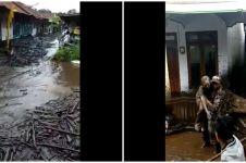 7 Penampakan banjir bandang di Bondowoso, terjang 200 rumah