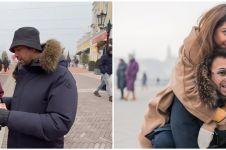 6 Potret Raffi & Nagita bagi duit di Budapest, totalnya puluhan juta
