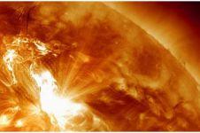 Penampakan detail matahari ini bikin takjub, butirannya seluas Texas