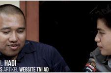 Kisah penulis tuna netra di balik pemberitaan TNI AD, inspiratif