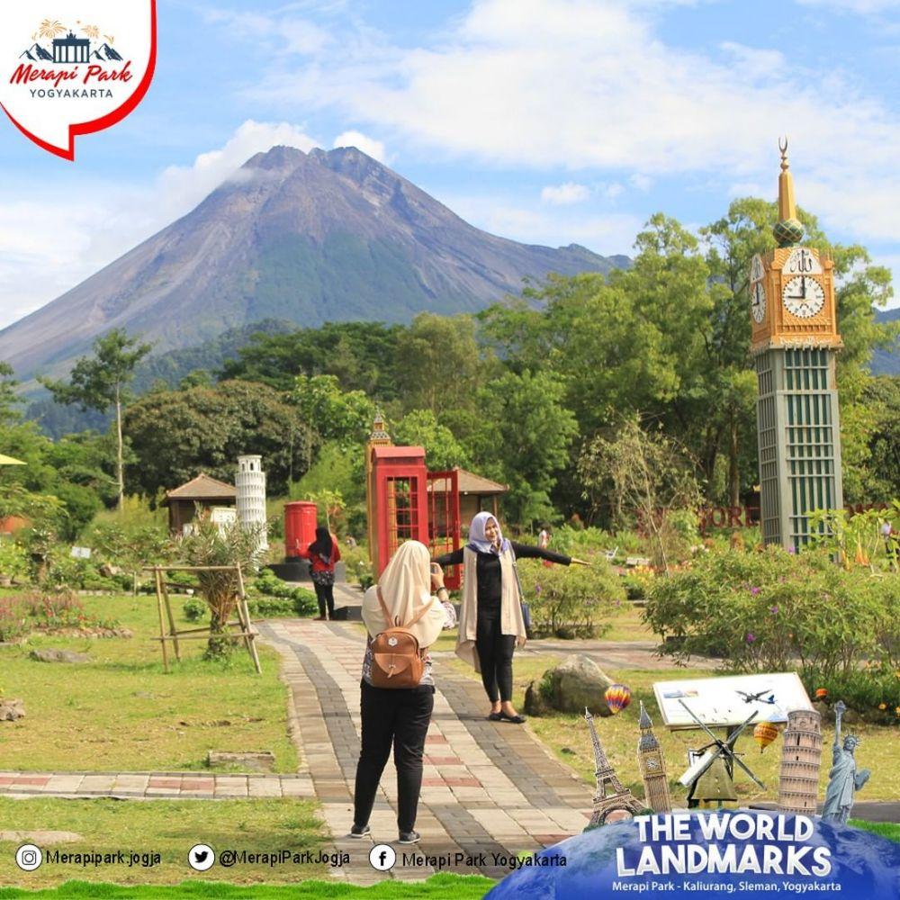 10 Tempat wisata terbaik di lereng Merapi, panoramanya memukau