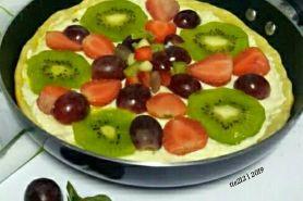 7 Resep pizza buah ala rumahan, segar dan gampang dibuat