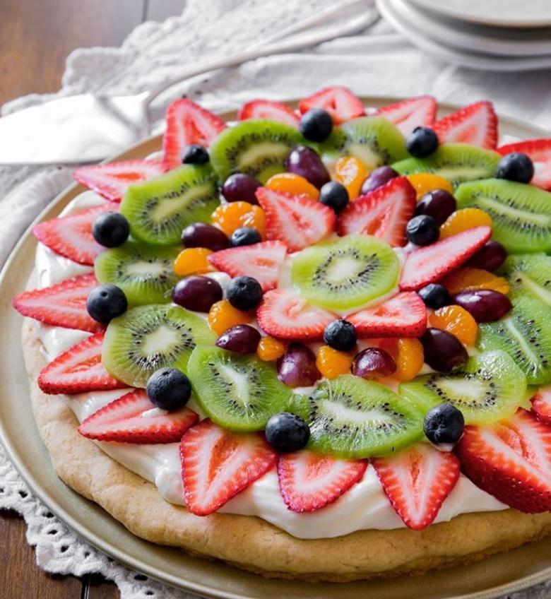 pizza buah Instagram