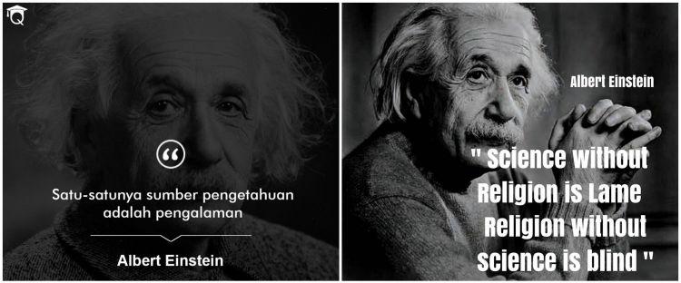 38 Kata-kata quote Albert Einstein tentang kehidupan, penuh makna
