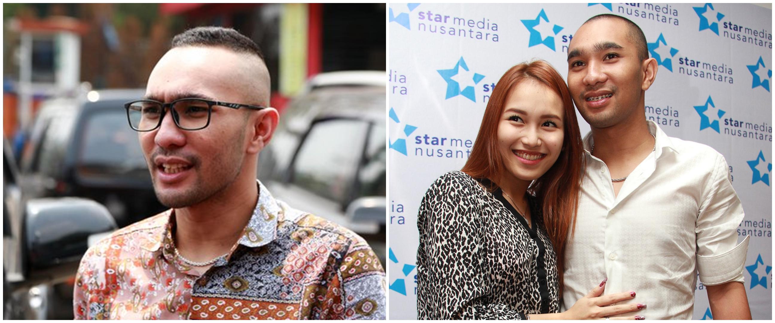 Momen mesra pernikahan ketiga Enji mantan suami Ayu Ting Ting