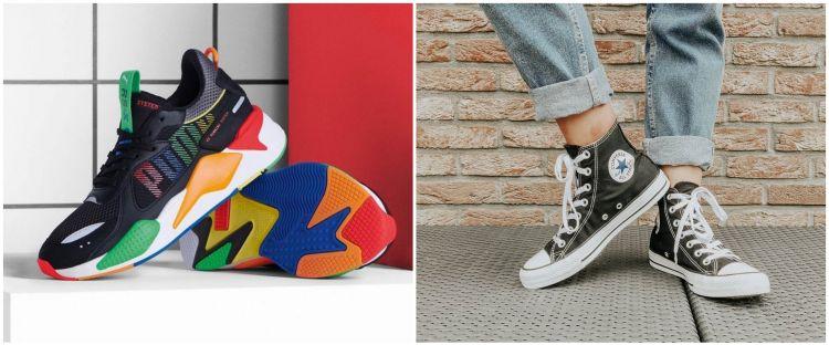 10 Jenis sneakers yang sedang tren, cocok buat cowok & cewek