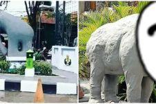 Viral patung Gajah Mungkur Gresik Rp 1 M, bentuknya unik