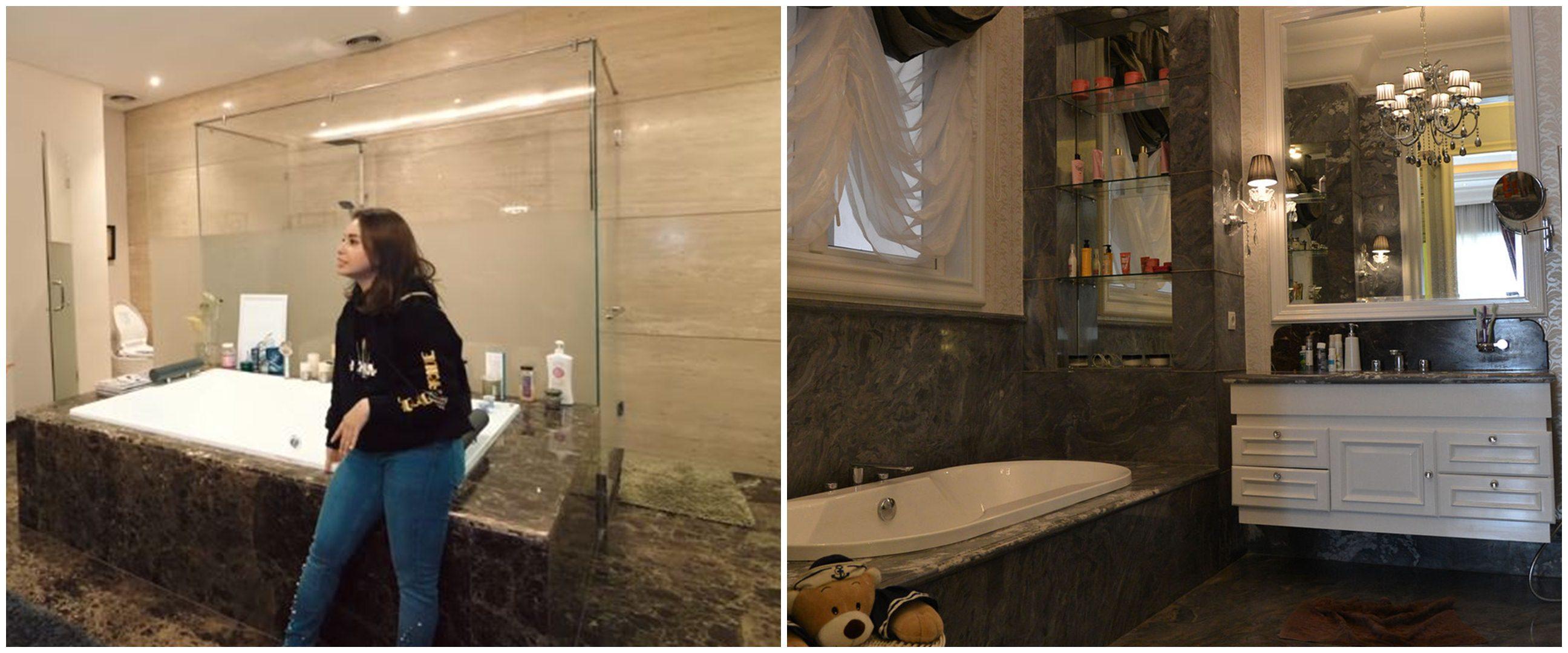 Penampakan kamar mandi 5 presenter Tanah Air, mewah dan cozy