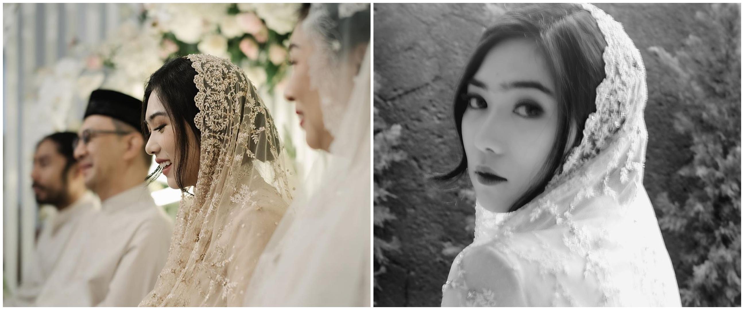 Jelang menikah, ini 9 momen pengajian Isyana dan Rayhan