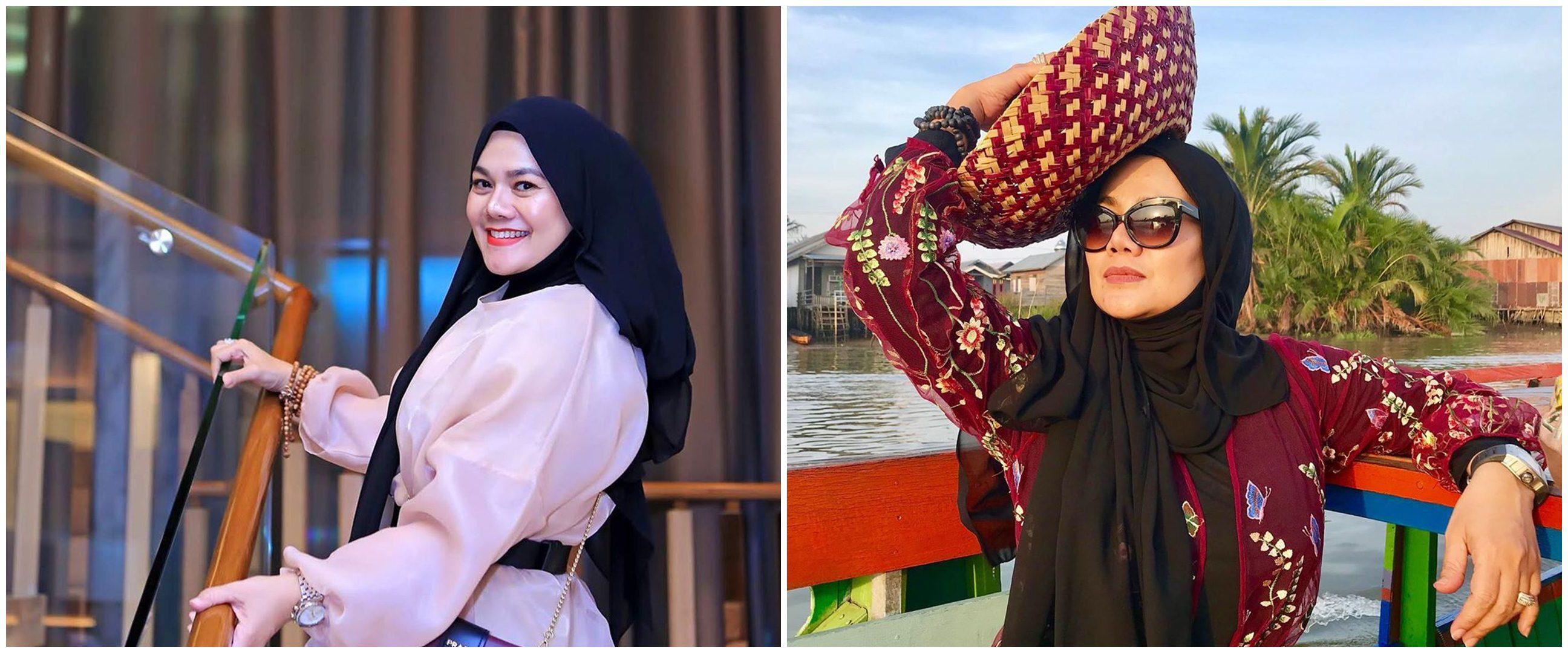 Beberkan hutang, Sarita Abdul Mukti hidup dengan honor endorse