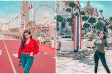 7 Gaya liburan Pamela Safitri di Thailand ini curi perhatian