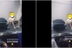 Viral bocah nangis di atas kabin bagasi kereta, begini kisahnya