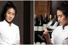 8 Gaya pemotretan Chef Renatta, auranya semakin terpancar