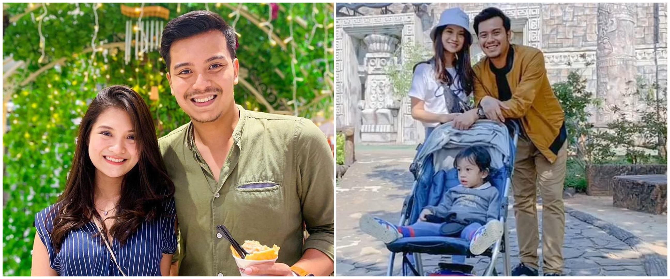 7 Momen mesra Vinessa Inez & pacar baru, sudah akrab dengan anak