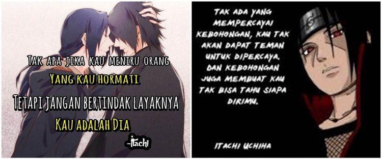 40 Kata Kata Quote Uchiha Itachi Naruto Paling Keren Dan Bijak