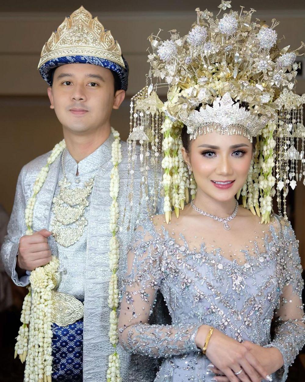 Momen pernikahan sespri Prabowo Instagram