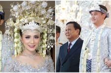 10 Momen pernikahan sespri Prabowo, mewah dan elegan