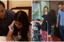 Momen Agus Yudhoyono latih berjalan Aira yang cedera, telaten banget