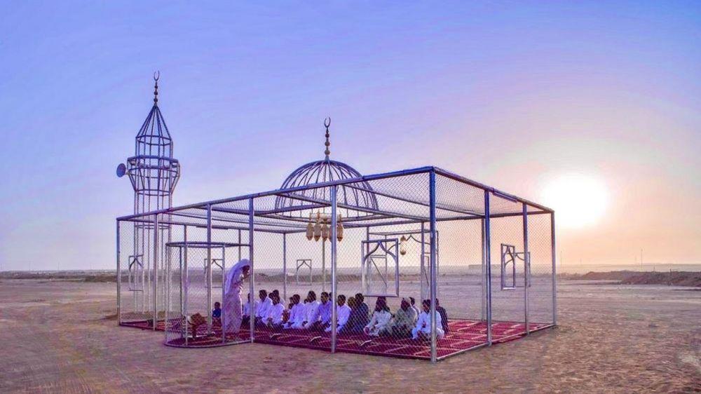 Masjid transparan di Arab  Twitter