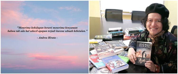 40 Kata-kata quote Andrea Hirata, inspiratif & penambah semangat