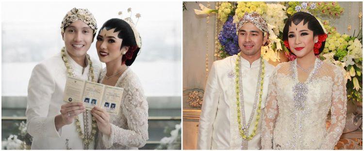 Pesona 10 seleb menikah dengan busana adat Jawa klasik