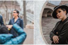 9 Gaya pemotretan Nagita & Raffi Ahmad di Paris, bak supermodel
