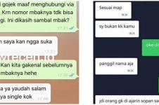 8 Chat pelanggan ojek online terlanjur ngegas, bikin emosi