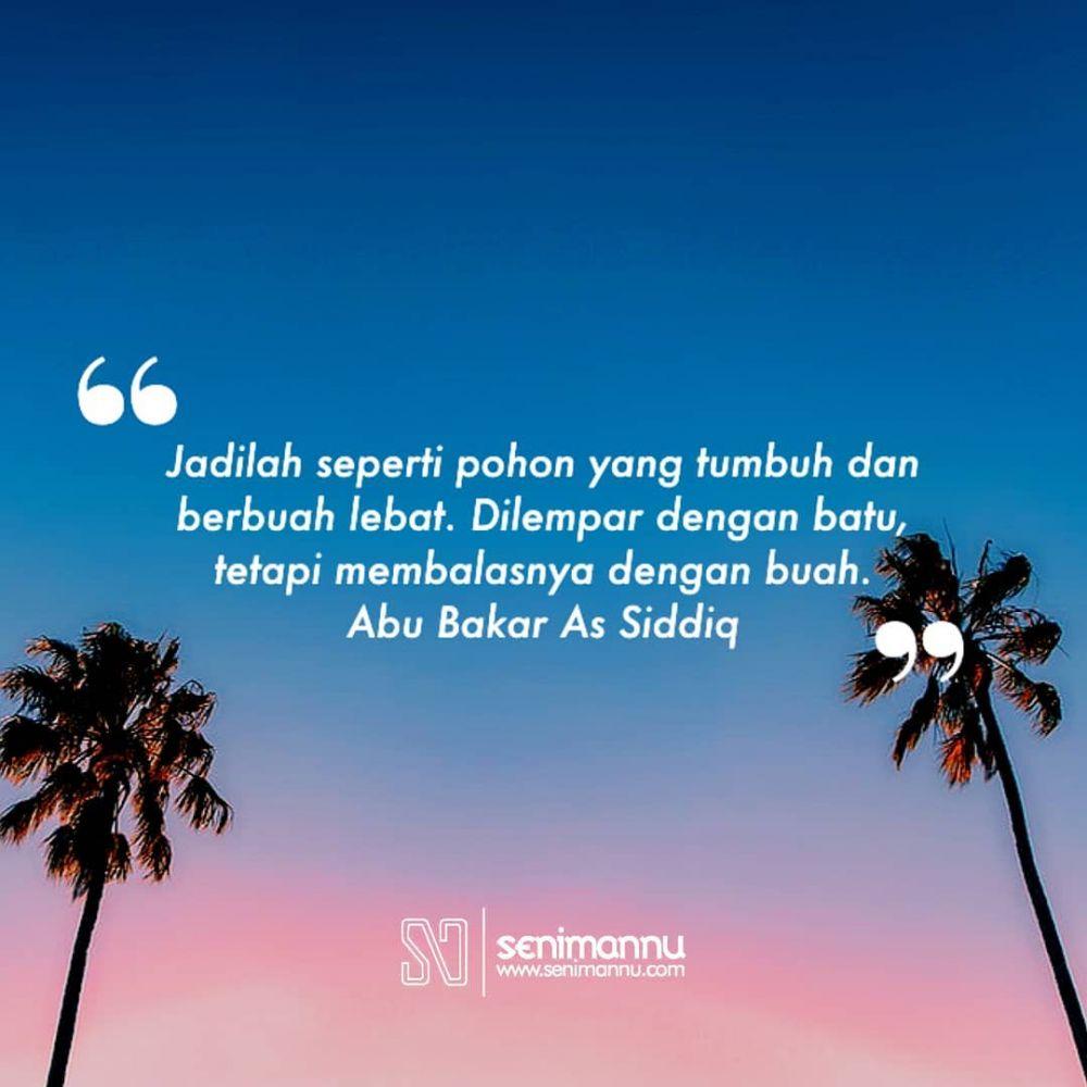 kata-kata quote Abu Bakar instagram
