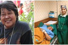 Sakit diabetes, ini 8 potret kondisi terkini Suti Karno di RS
