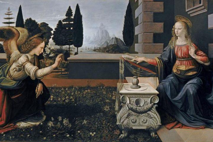 Reproduksi karya Leonardo da Vinci hadir di Museum Bank Mandiri
