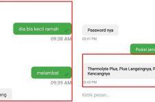 12 Chat lucu candaan penumpang & driver ojek online, kocak