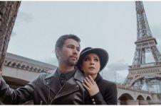 Momen salah tingkah Raffi & Nagita ciuman saat pemotretan di Paris