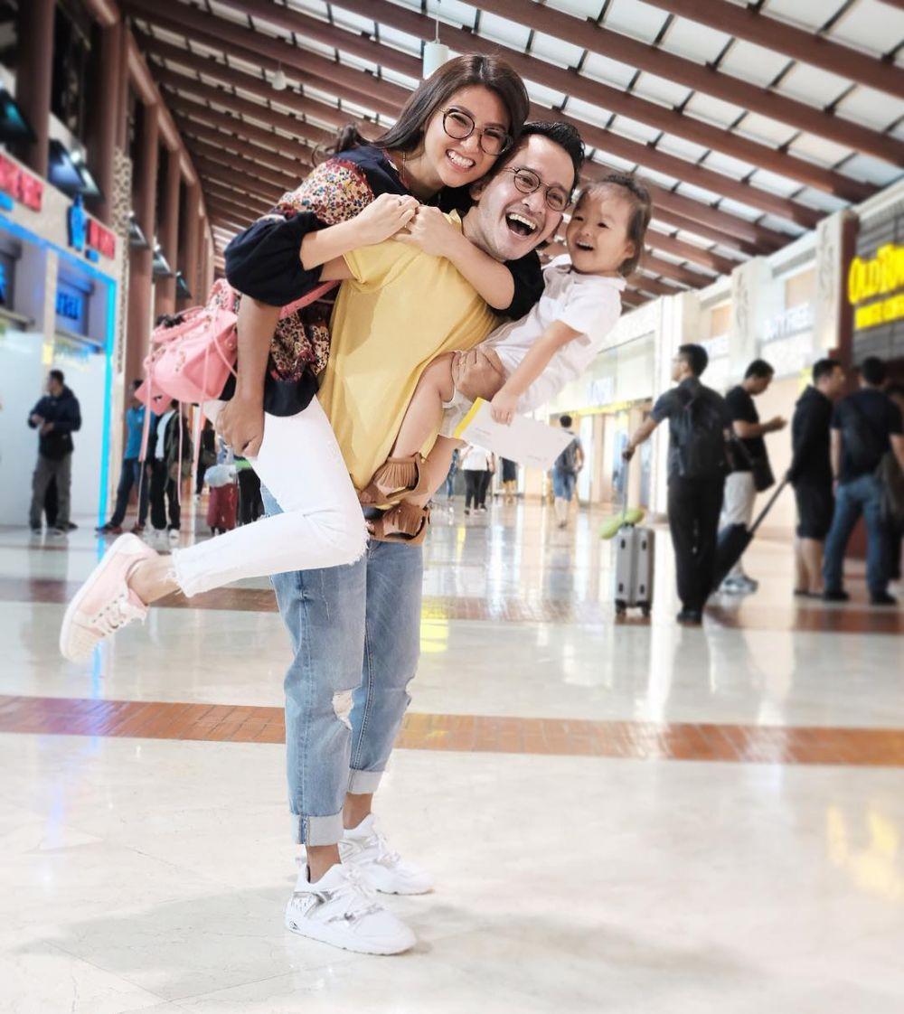 airport fashion Sarwendah instagram