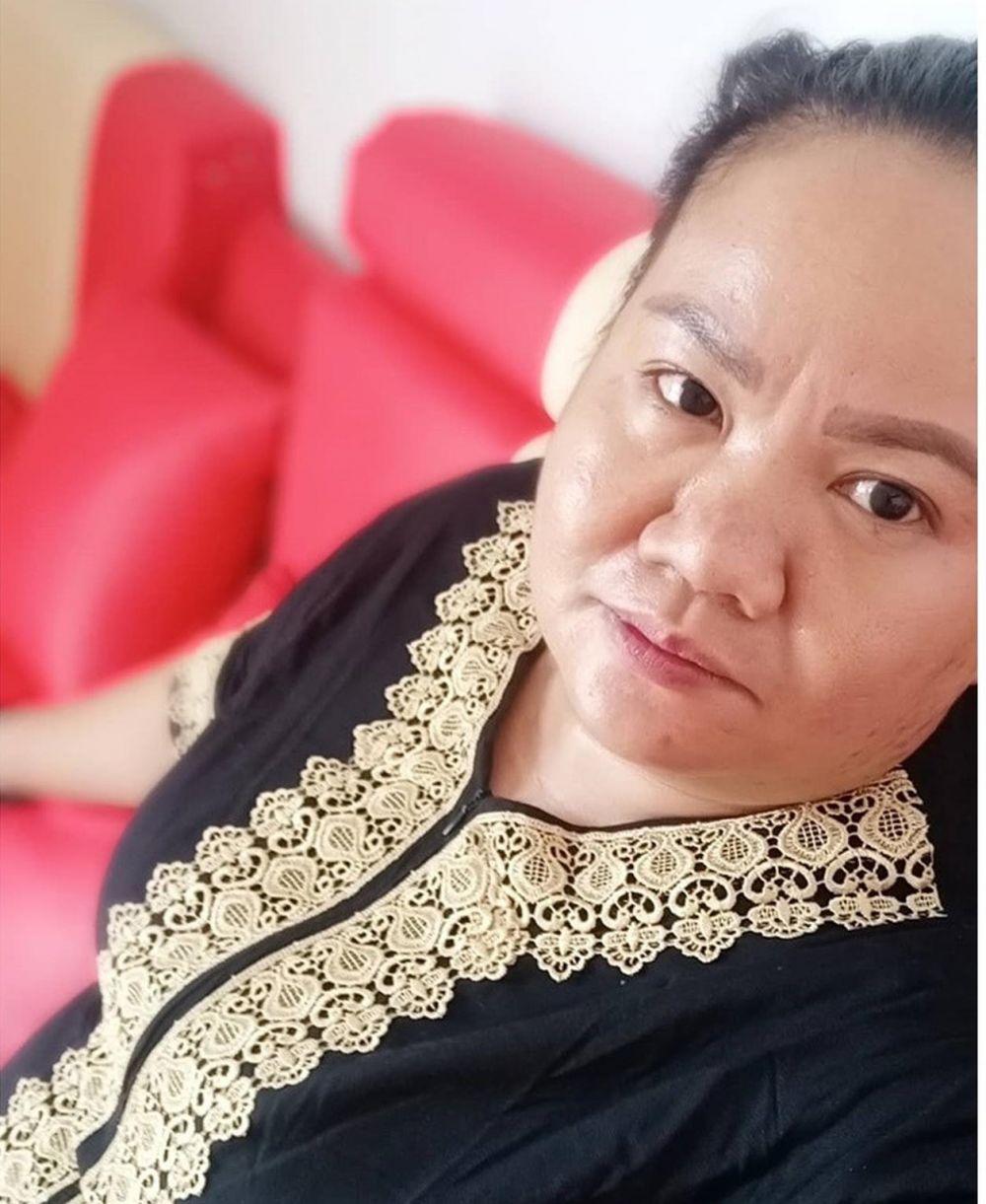 Aty Kodong tanpa makeup instagram