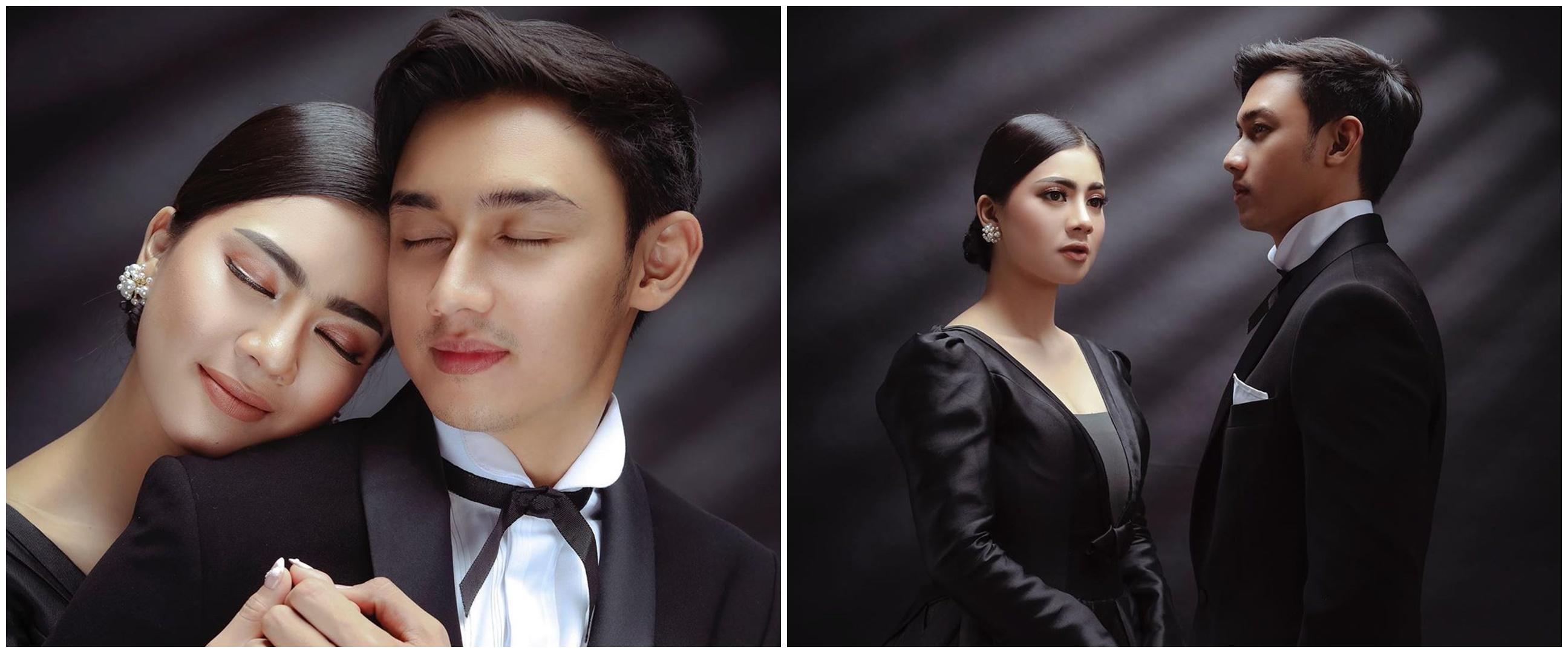 8 Potret prewedding Caesar Hito dan Felicya Angelista ini elegan