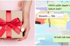 10 Chat WA lucu kado ulang tahun ini bikin cengar-cengir