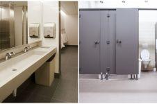 9 Alasan pintu toilet umum tak sampai bawah, jadi jalur darurat
