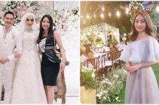 10 Gaya Natasha Wilona hadiri lamaran & pernikahan, memesona