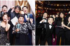 Ucapan 10 seleb Korea untuk kemenangan Parasite di Oscar 2020