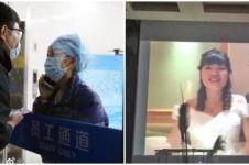4 Kisah mengharukan pernikahan yang 'terhalang' virus Corona