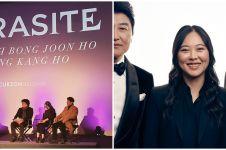 10 Potret Sharon Choi, translator curi perhatian Oscar 2020
