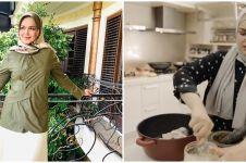 9 Potret dapur rumah Siti Nurhaliza, mewah tapi ada wajan gosong