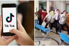 8 Aksi pegawai main TikTok di kantor, kocaknya bikin bos ketawa